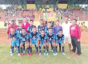sepakbola KU 11 PS Maesa Sulut,Kejurnas Bripsi Bina Sentra Cup ,Berce Langkun