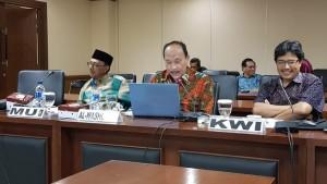 Tokoh-tokoh agama yang menghadiri RDP dengan Komite III DPD-RI