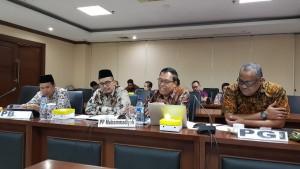 Tokoh-tokoh agama yang hadir dalam RDP dengan Komite III DPD-RI