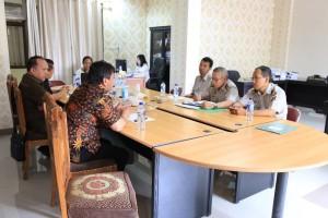 Rapat Pembahasan PTSL Komisi I DPRD Tomohon dengan Badan Pertanahan
