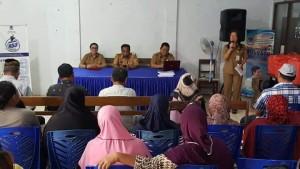 Diskominfo Kota Manado, Workshop Pelaporan Data Statistik, Erwin Kontu , Paula Lalamentik