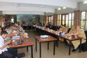 Kunjungan Komisi II DPR-RI di Kota Tomohon