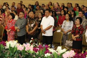 Olly Hadiri Ibadah Natal KKPGA Rayon Manado