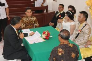 Wali Kota Tomohon mencatat pernikahan Raffi dan Christy