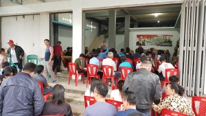 SBANL Sosialisasi Empat Pilar di Langowan Minahasa