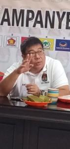 KPU Tomohon Targetkan 90 Persen Wajib Pilih Berikan Suara