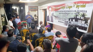 Senator SBANL Gelar Dengar Pendapat Masyarakat di Kawangkoan