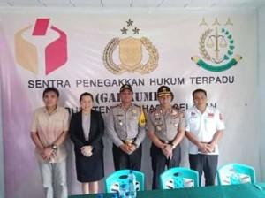 KPU Minsel, Kapolda Sulut,  Romy Sambuaga