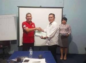 PD Pasar Manado Gelar Sertijab, Dirut Baru Harap Seluruh Jajaran Bersinergi