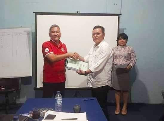 Fery Keintjem ,Stenly Suwuh, Oke Cing Sumual, PD Pasar Manado, dirut PD Pasar Manado