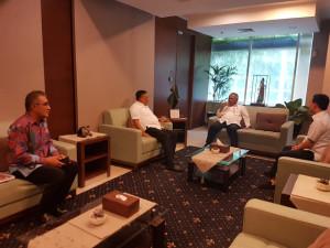 Gesa Pembangunan Infrastruktur Sulut, Olly Temui Menteri PUPR