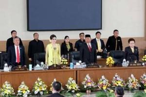 Peringati HUT ke-16 Kabupaten Minsel, DPRD Laksanakan Rapat Paripurna Istimewa1