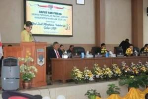 Peringati HUT ke-16 Kabupaten Minsel, DPRD Laksanakan Rapat Paripurna Istimewa3