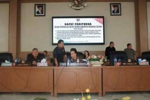 Rapat Paripurna Perdana DPRD Minsel di Tahun 2019