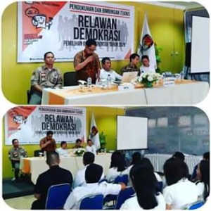 KPU Minahasa Tenggara, Relawan Demokrasi, Wolter Dotulong,DR. Johny Taroreh,