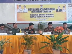 Sukses Musrembang RKPD Kecamatan Kumelembuai