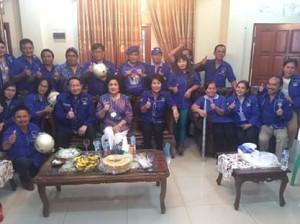 Target Menang Pemilu, Mangindaan Minta Kader Demokrat Minahasa Tenggara Kerja Keras