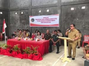 Robby Dondokambey, PTSL minahasa,BPN Minahasa ,Ramilin Sinurat,Pendaftaran Tanah Sistematis Lengkap, Desa Sawangan