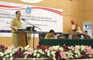Kandouw Minta Pejabat Pemprov Sulut Perhatikan Pengelolan Keuangan
