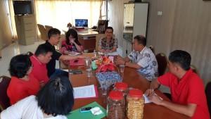 Senator SBANL bersama jajaran Dinas Sosial Daerah Sulut