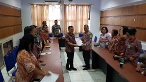 Senator SBANL bersama Kadispora  Sulut Marshel Sendow SH MSi dan jajaran