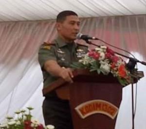 Danrem 131/Santiago: Netralitas Sebagai TNI Harga Mati