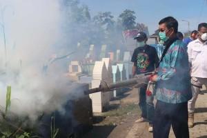 Awali Tahun Baru, Wali Kota Manado Langsung Action