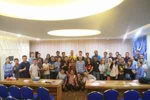 Kabag Humas Sonny Takumansang Gelar Pertemuan Perdana Dengan Wartawan Pemkot Manado