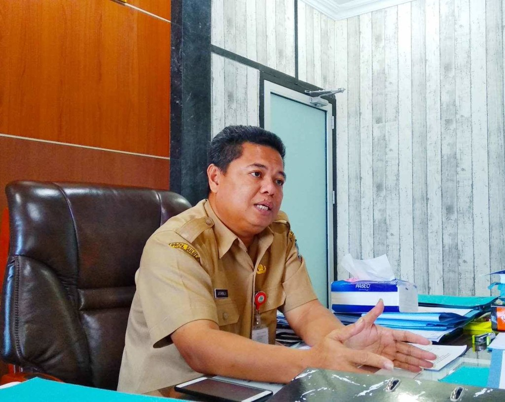 Kepala BPKAD Kota Manado Johnly Tamaka