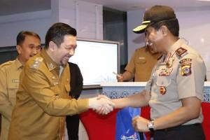 Kunjungi C3, Wawali Mor Jelaskan Perkembangan Program e-Tilang ke Kapolda Sulut