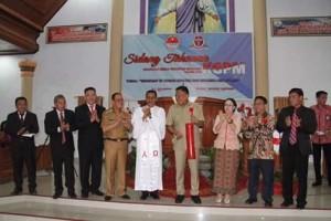 """Sidang Tahunan KGPM 2019, KGPM Sidang """"Imanuel"""" Ampreng, Gembala Fetrisia Y. Aling,Pdt. Dr. Gomar Gultom,"""