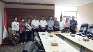 Komisi III DPRD Tomohon di Kementerian Pendidilkan dan Kebudayaan