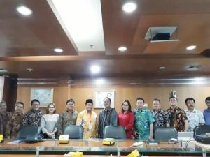 Komisi II DPRD Tomohon di Kementerian Komunikasoi dan Informatika