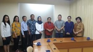 Komisi III DPRD Tomohon Konsultasi di Kemenaker dan Kemendikbud