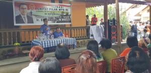 Senator SBANL mensosialisasikan Empat Pilar MPR-RI di Kotamobagu
