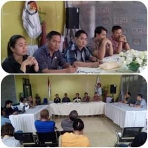 KPU Mitra Ingatkan Para Peserta Pemilu Memasang APK Sesuai Ketentuan