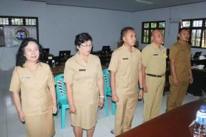 Lolowang Lantik Lima Pejabat