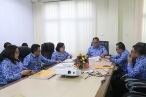 Rapat persiapan menyambut kunjungan Pemeirntah Kota Minamiboso