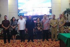 GSVL-Mor Hadiri Rapat Paripurna DPRD Kota Manado