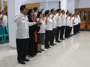 Para pejabat eselon II yang dilantik