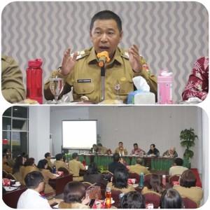 Bupati Sumendap Larang Pejabat Mitra Keluar Daerah Selama Pemeriksaan BPK