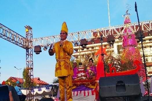 Wali Kota Manado: Upacara Adat Tulude Harus Terus Dilestarikan