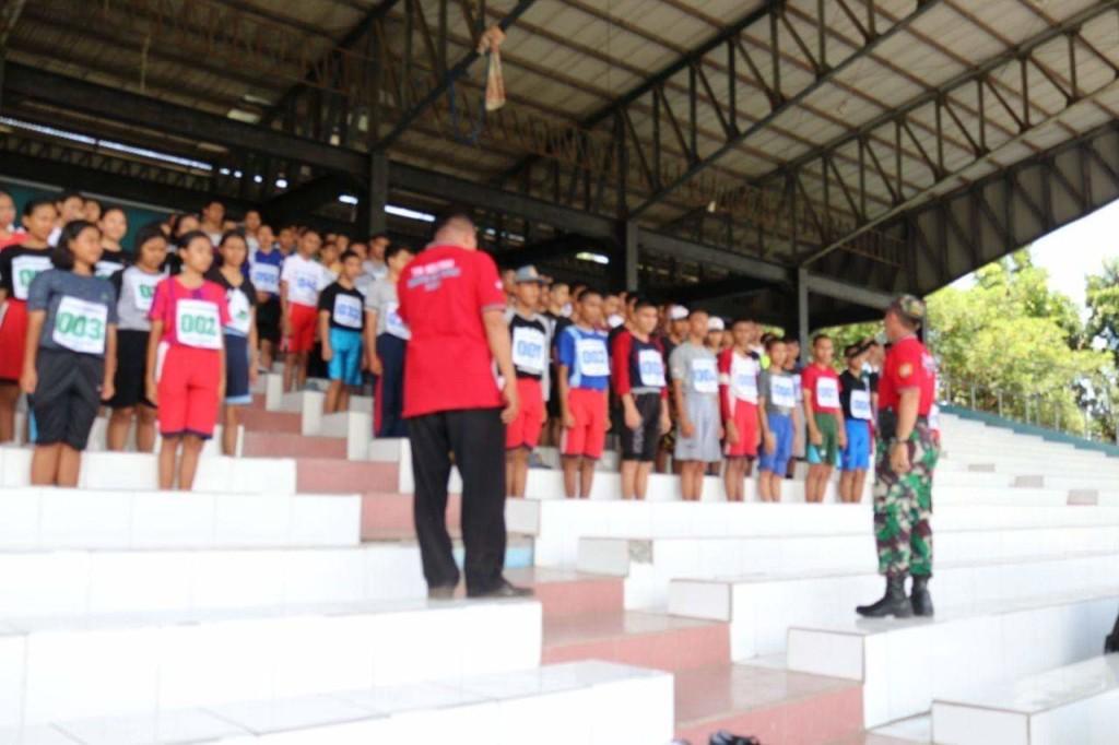 Suasana seleksi calon Paskibraka Kota Manado beberapa waktu yang lalu