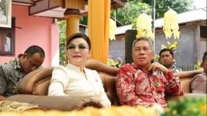 HUT Desa Koreng ke-315, Christiany Eugenia Paruntu, Frangky Donny Wongkar