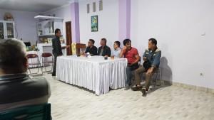 Rapat penantapan kegiatan Rally Wisata Motor Baron Tomohon