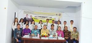 Wali Kota Tomohon, panitia tim seleksi serta peserta seleksi
