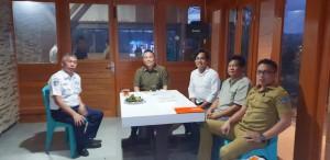 Tim Kerja audiens dan mendapat support dari Wali Kota Tomohon Jimmy F Eman SE Ak