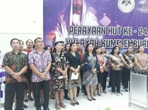 Ibadah Agung KPI, HUT ke-24 GMIM Wilayah Kumelembuai, Kumelembuai