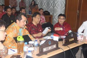 Satgas koordinasi dan supervisi KPK RI Dian Patria