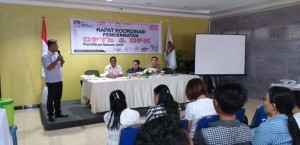 KPU Mitra Gelar Rakor Pencermatan DPTb dan DPK